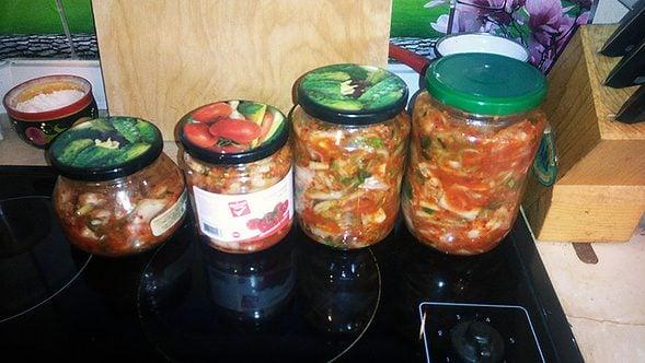 Mak-kimchi (막김치)