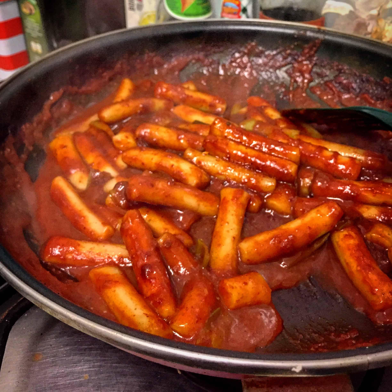 Korean Food Photo Spicy Rice Cake Maangchi Com