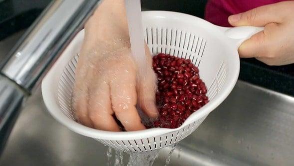 azuki beans (red beans: 팥)
