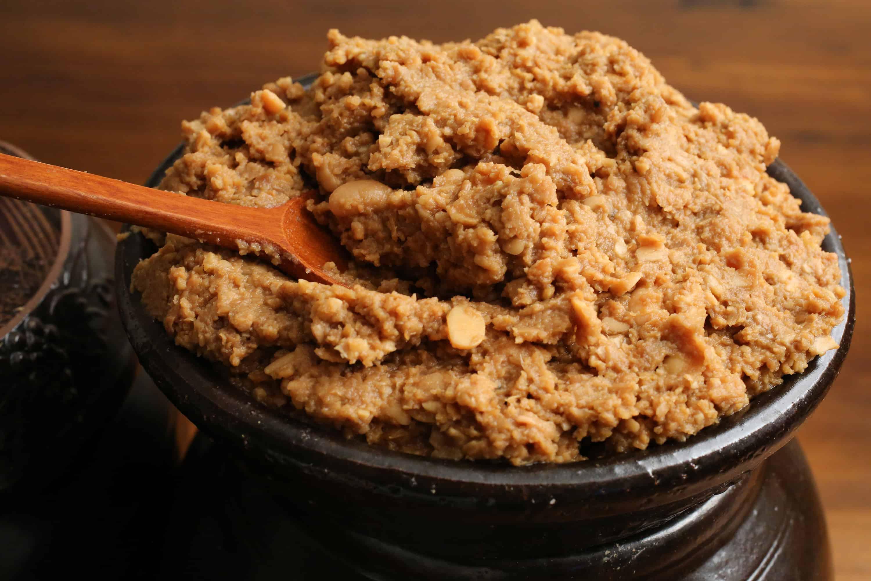 Fermented soybean paste (Doenjang) recipe - Maangchi.com