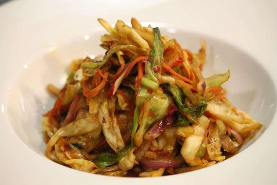 korean food photo  fusion kimchi  u2013 mexican kimchi