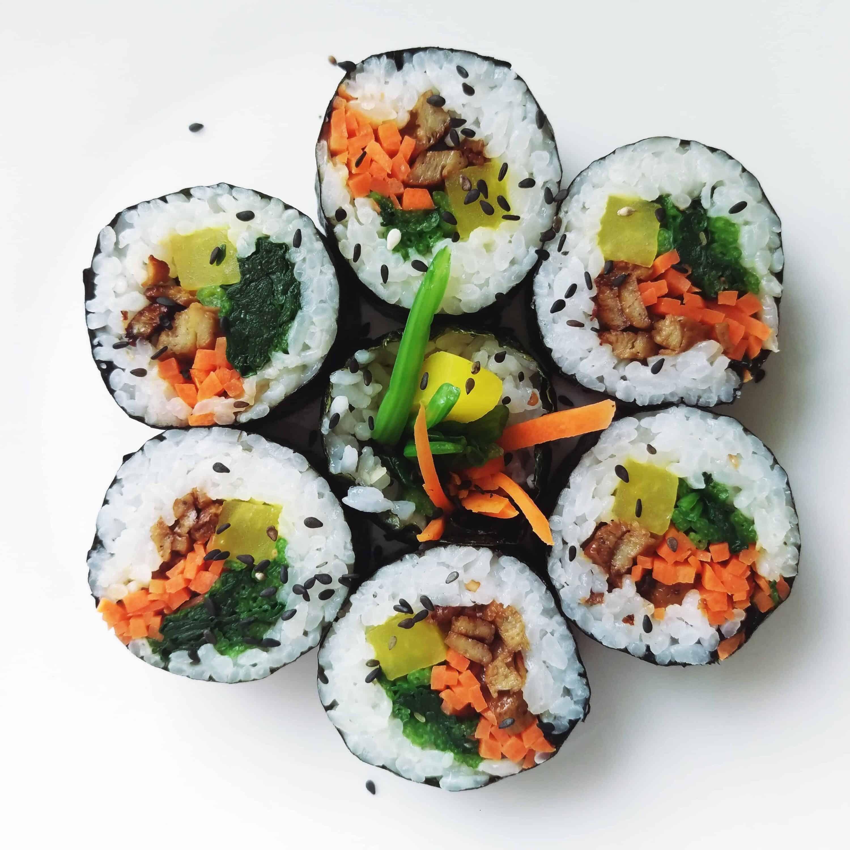 Kimbap Korean Food Recipe