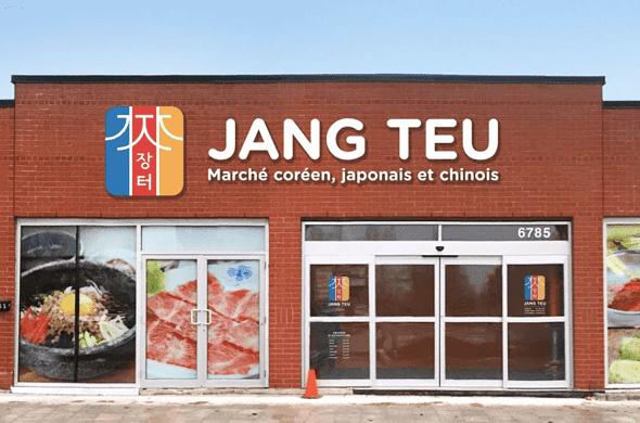 Jang Teu Korean grocery store in Montreal Canada