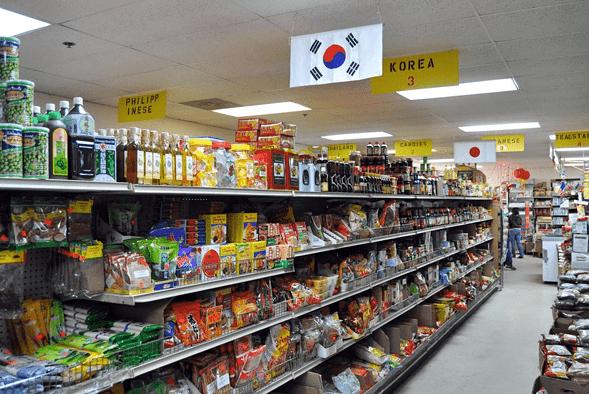 China Merchandise Korean store