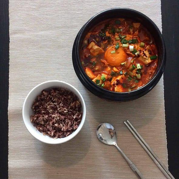 Kimchi Sundubu Jjigae