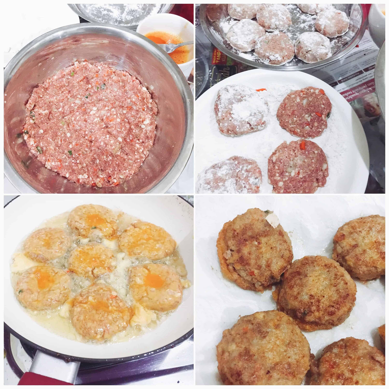 Pan fried meat and tofu patties wanja jeon recipe maangchi see full size image forumfinder Gallery