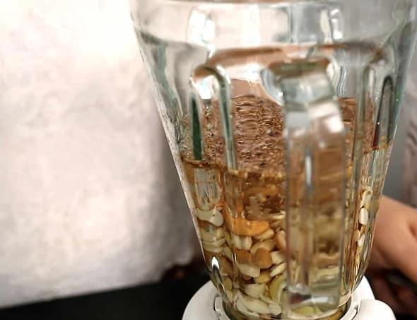 soy milk making (duyu: 두유 만들기)