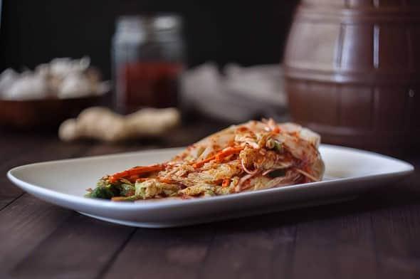 Whole cabbage kimchi -