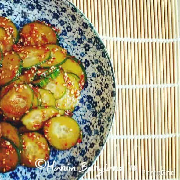 Oi-Muchim, Spicy Cucumber Salad