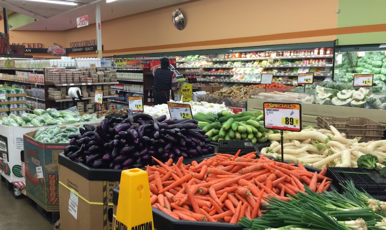 Korean Grocery Store In 99 Ranch Market 1688 Hostetter Road San Jose California