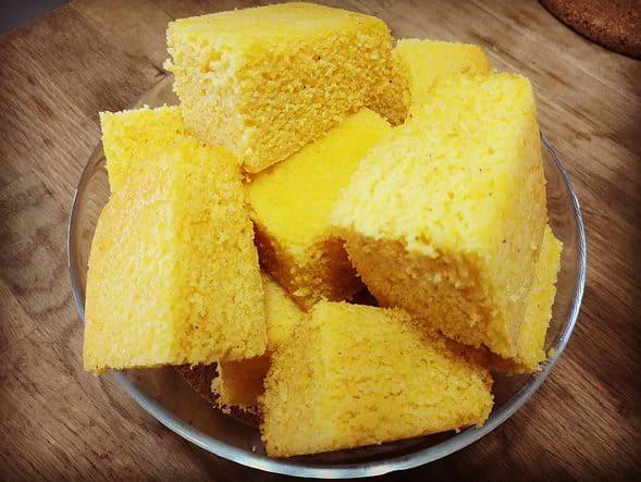 Cornbread Oksusu-ppang 옥수수빵
