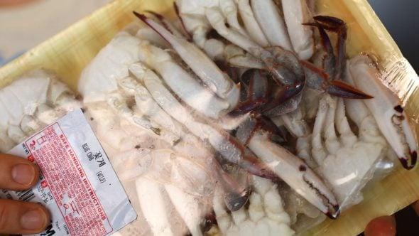frozen-kkotge (frozen crabs: 냉동꽃게)