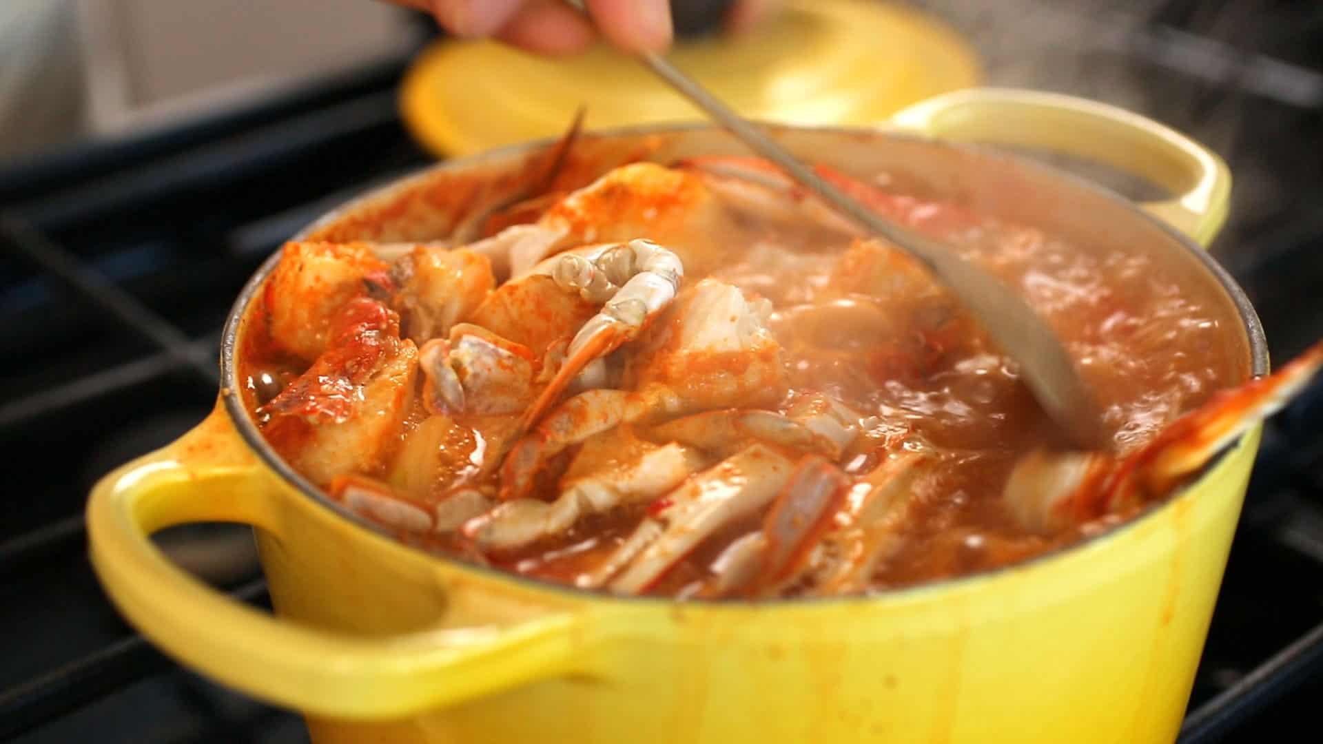Soup Kitchen Snow Crab Soup Recipe