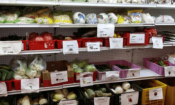 BCS Food Market in Texas