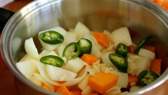 vegetables-doenjangjjiage