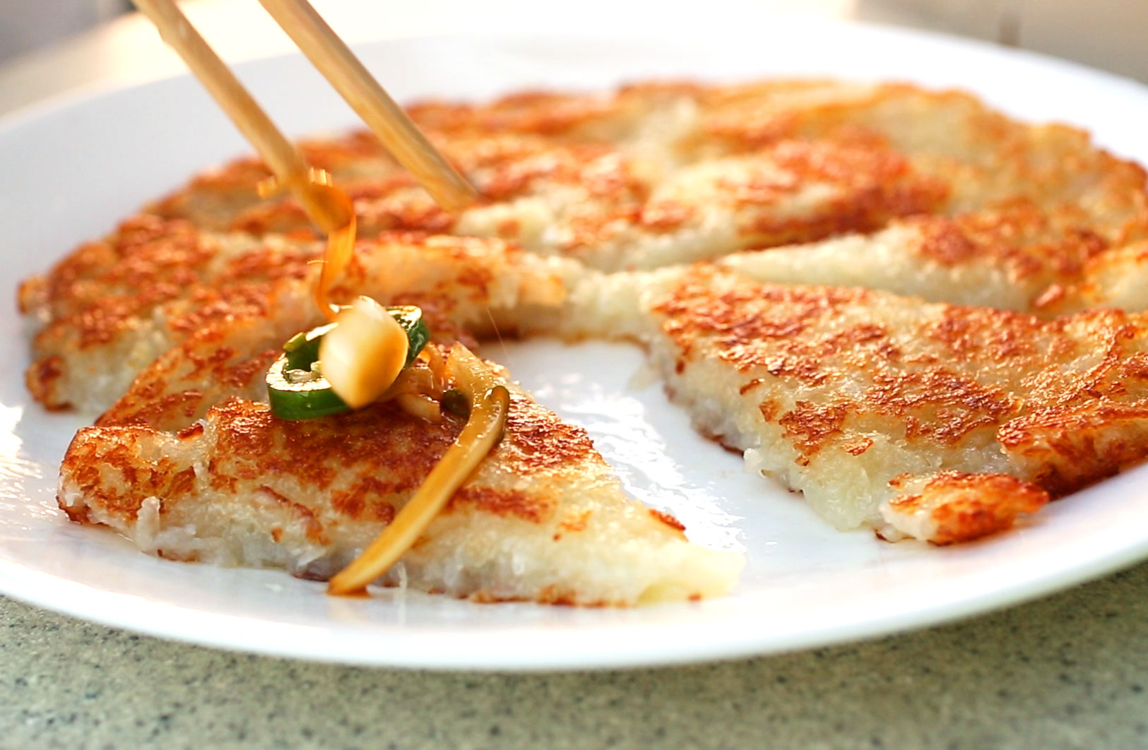 Simple potato pancake gamjajeon recipe maangchi gamjajeon ccuart Image collections