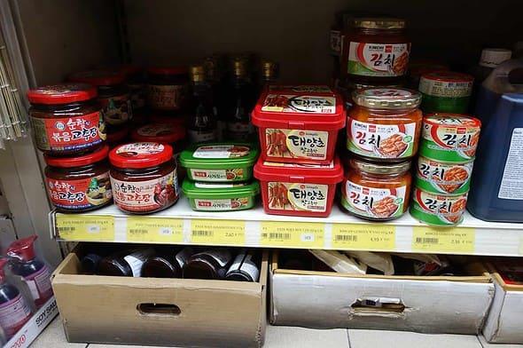Asiana Supermarché pastes