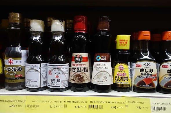 Asiana Supermarché sesame-oil