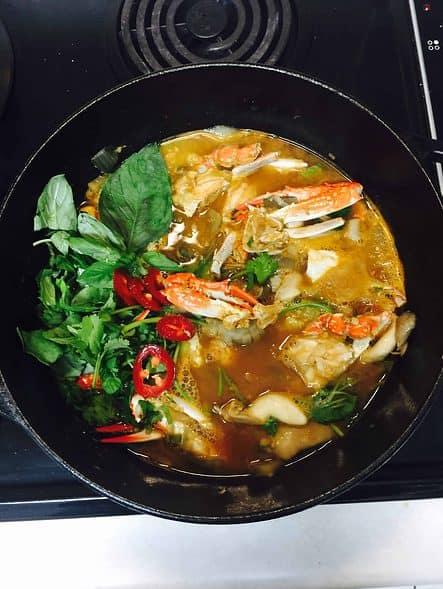 Crab soup Kkotgetang
