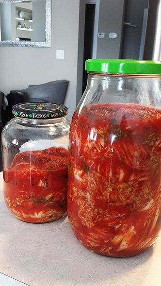 traditiona kimchi!