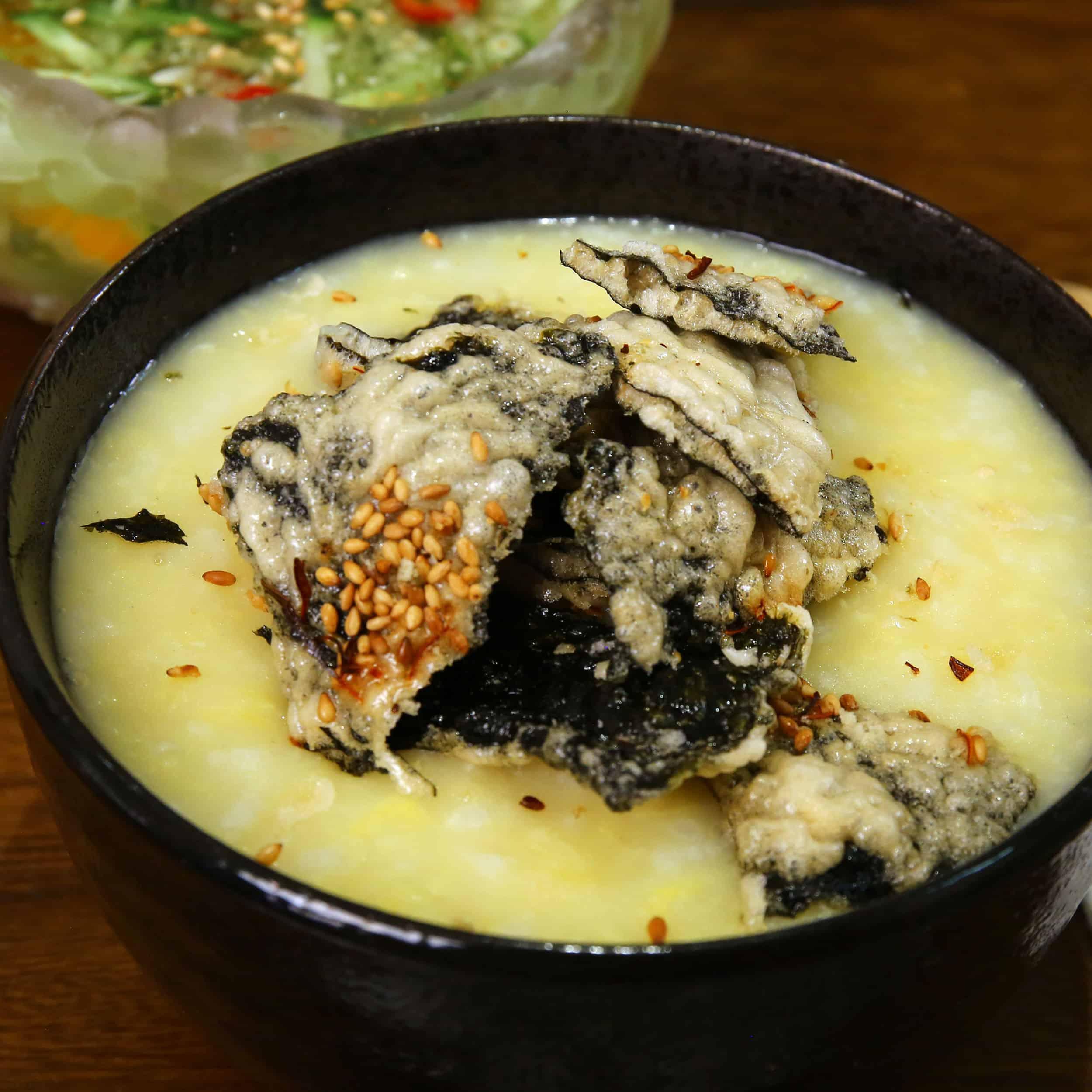 Mung Bean Porridge Nokdu Juk 녹두죽 Recipe Maangchi Com