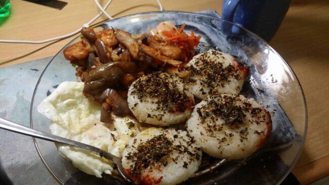 Mixed korean dishes!