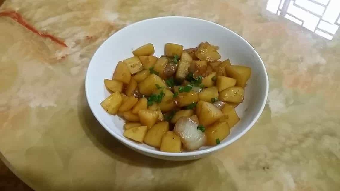 cooking korean food with maangchi potato side dish gamja bokkeum forumfinder Images