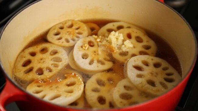 lotus root soy sauce