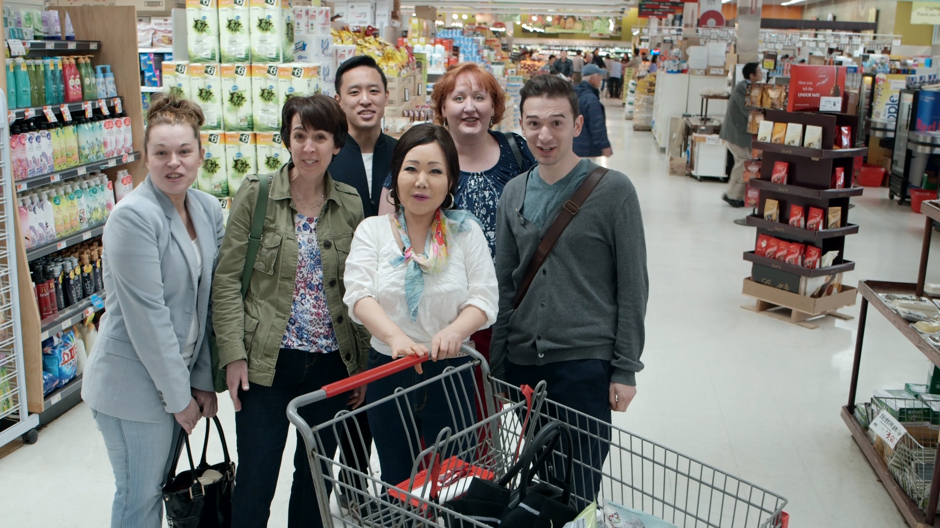 Korean grocery store walkthrough
