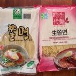 jjolmyeon noodles