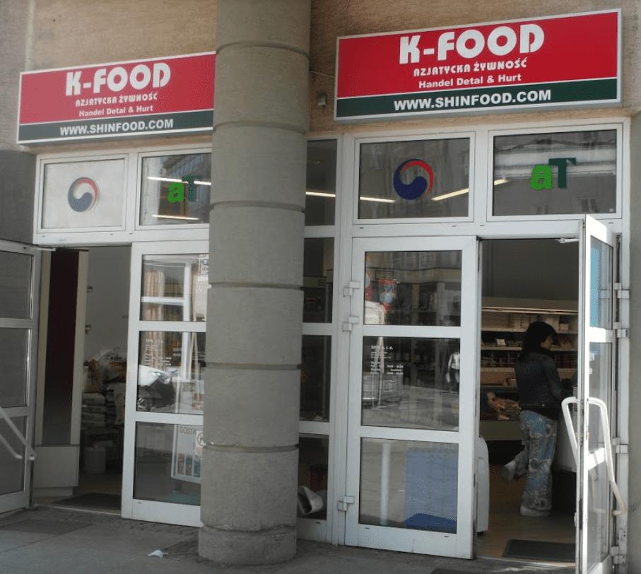 K Food Azjatycka źywność Korean Grocery Store In Wrocław