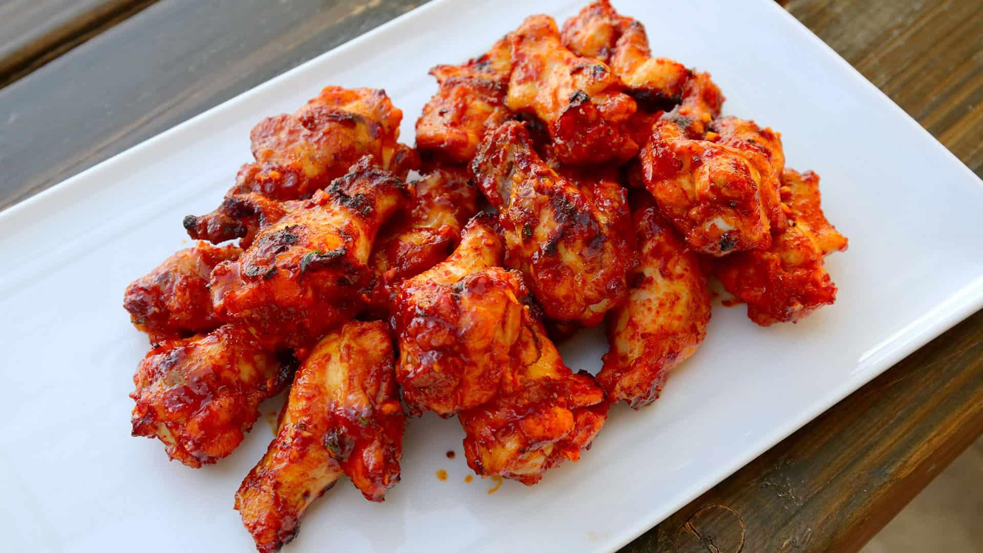 Spicy BBQ chicken drumettes (Maeun-dakbonggui) recipe - Maangchi.com