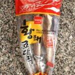 Semi-dried pollock (kodari)