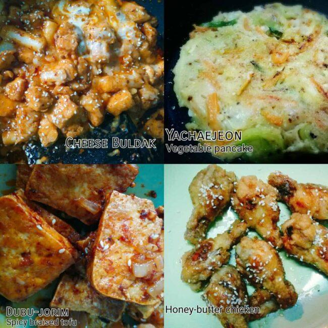 Homemade Korean weekend brunch