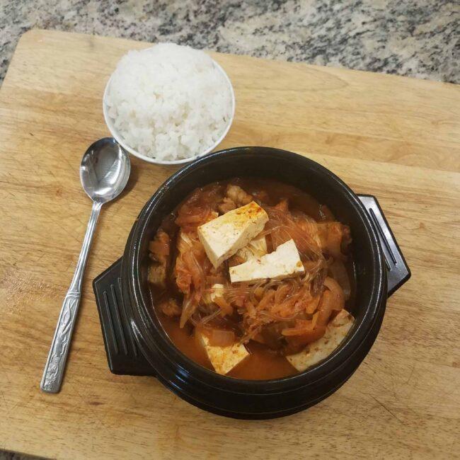 Kimchi Jjigae / 김치 찌개