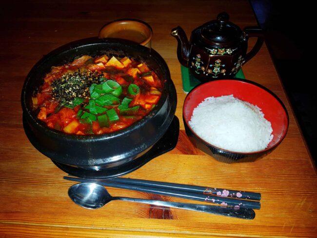 Vegan Kimchi Jjigae