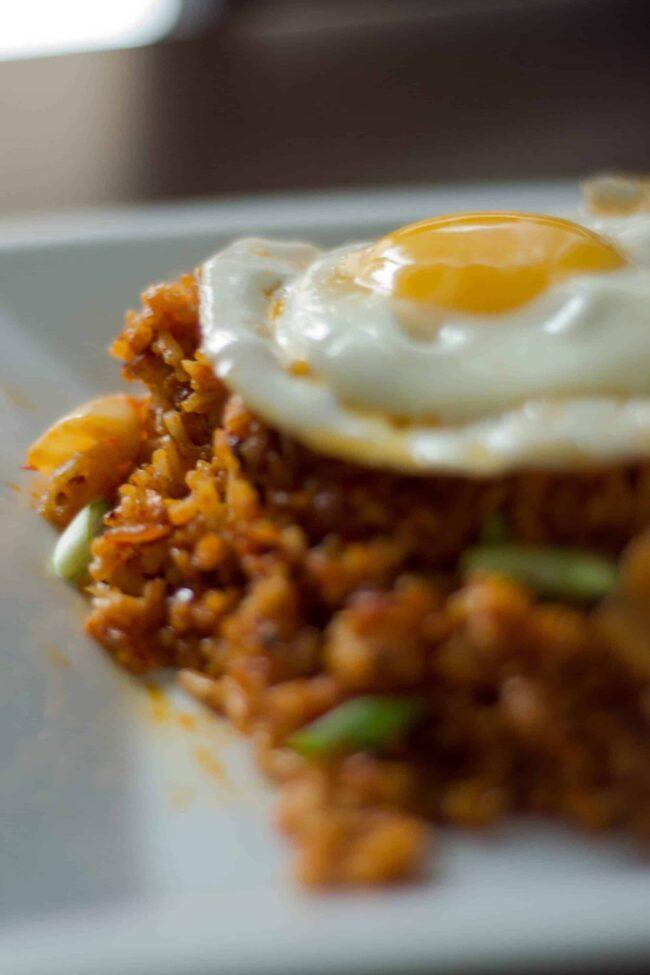 Kimchi Bokkeumbap made by apekshaks
