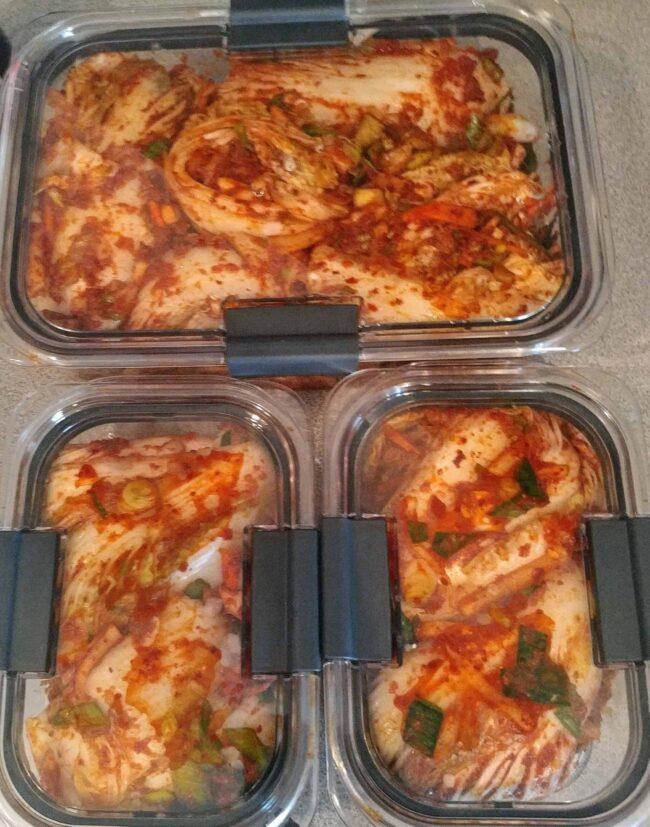 First Kimchi!
