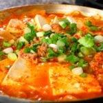 참치김치찌개 Kimchi stew with tuna Chamchi-kimchi-jjigae