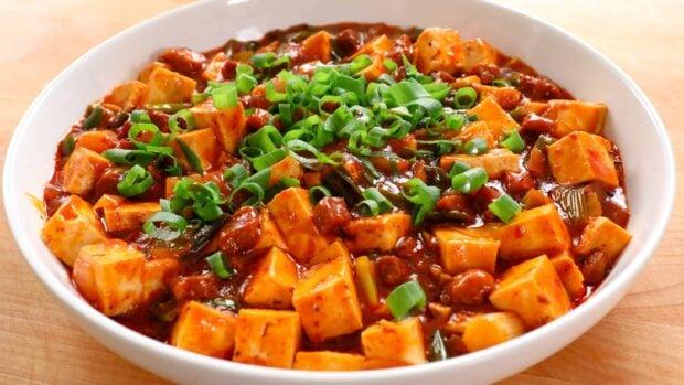 Mapo tofu (mapadubu)
