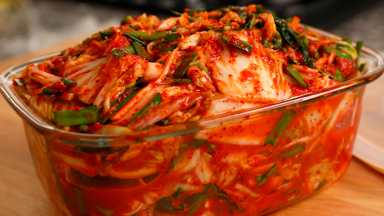 vegan kimchi (vegetarian kimchi)