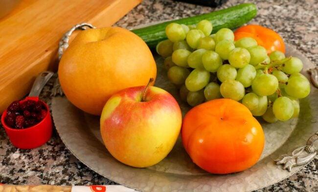 Korean fruit salad ingredients