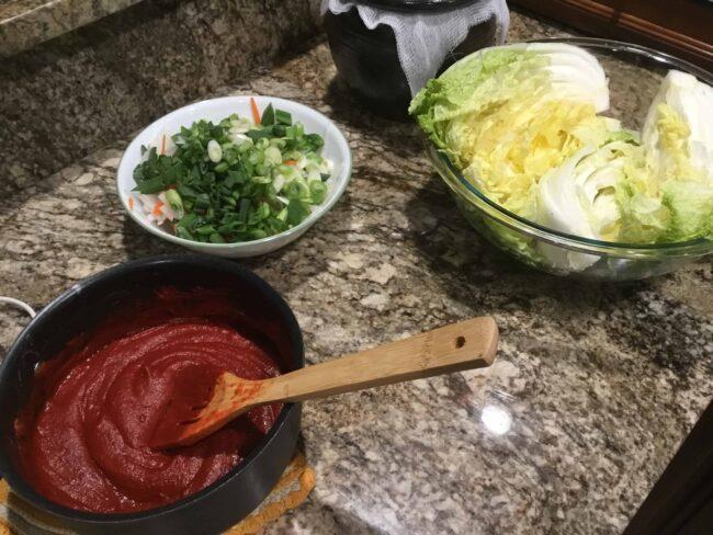 Trying Maangchi's Traditional Kimchi