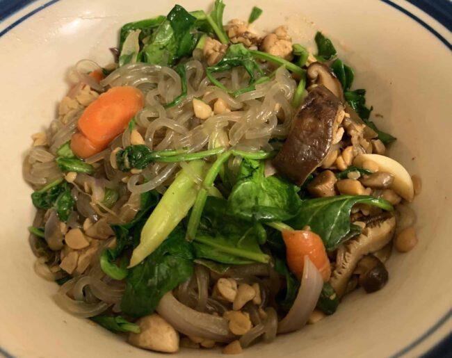 Marianneo's homemade Vegan Japchae!