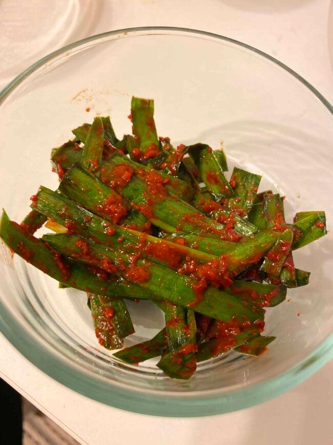 New love for Buchu-kimchi ❤️❤️❤️