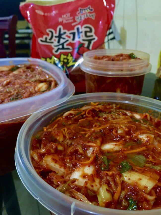 Kimchi during Quarantine