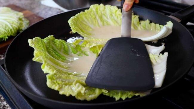 cabbage pancake-panfry