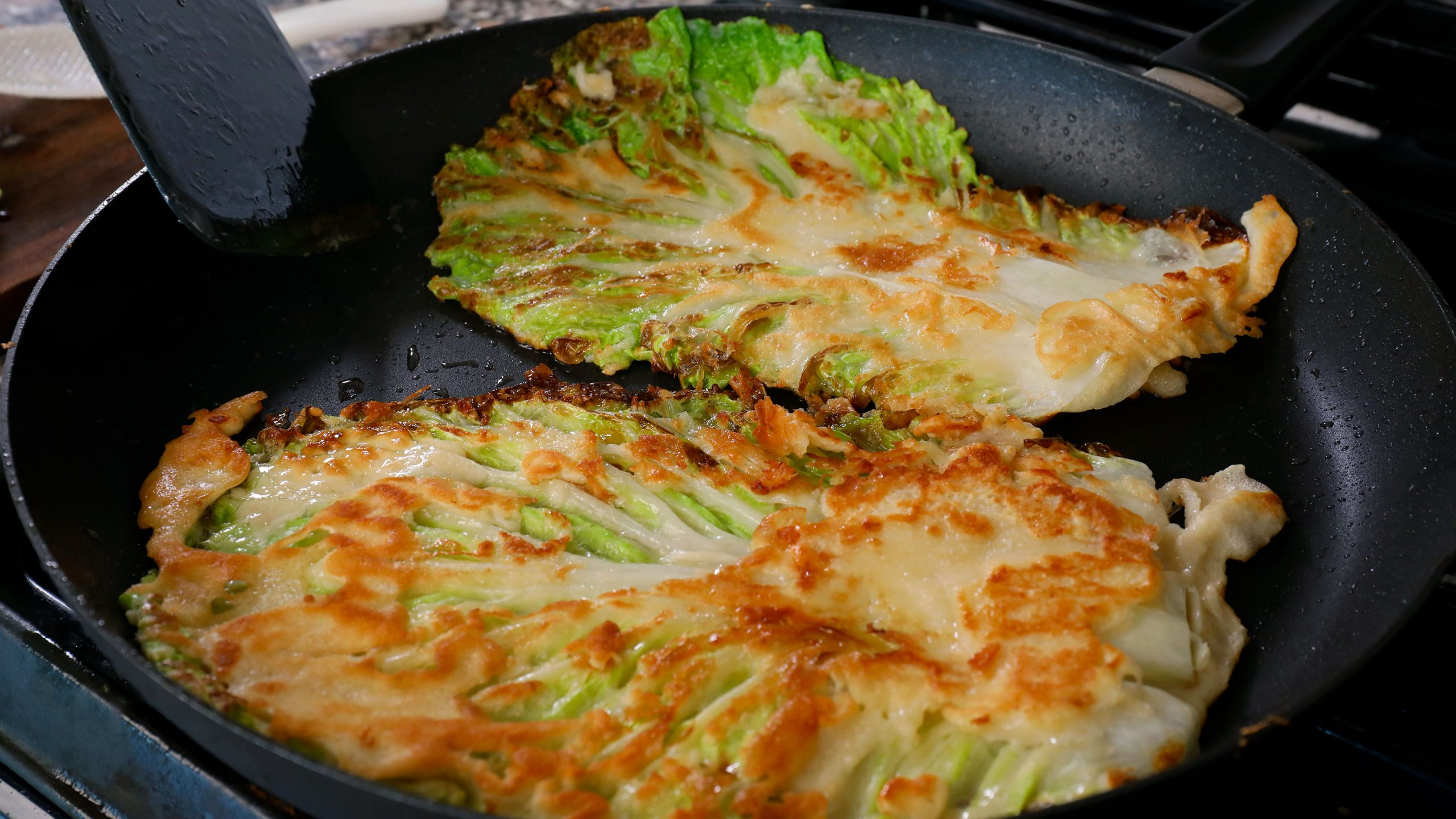 Korean cabbage pancake