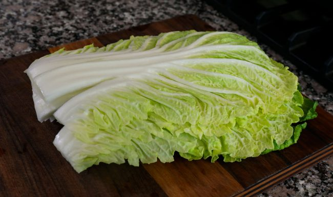 Korean cabbage pancake-cabbage