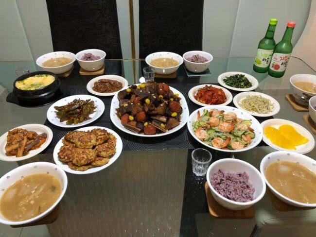 Korean Dinner!